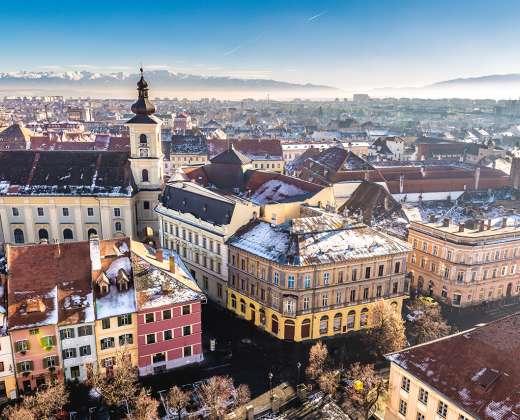 Rumunija. Sibiu