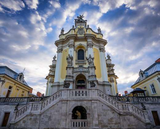 Ukraina. Lvovas. Šv. Juro soboras
