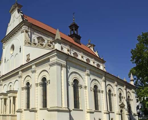 Lenkija. Zamostė. Šv. Tomo bažnyčia