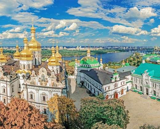 Ukraina. Kijevas. Pečioros Laura