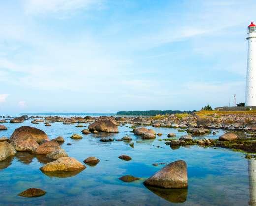 Estija. Hyjumos sala. Tahkuna švyturys