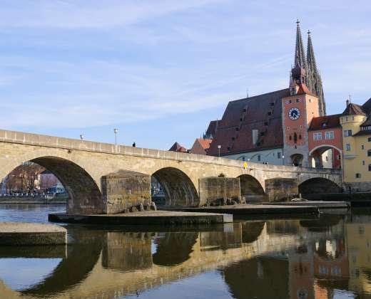Rėgensburgas. Akmeninis tiltas