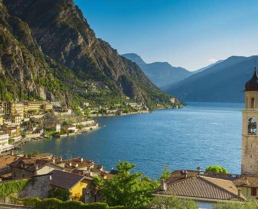 Italija. Gardos ežeras.