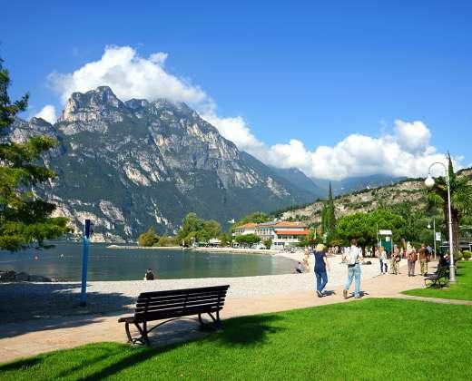 Italija. Riva del Garda miestelis