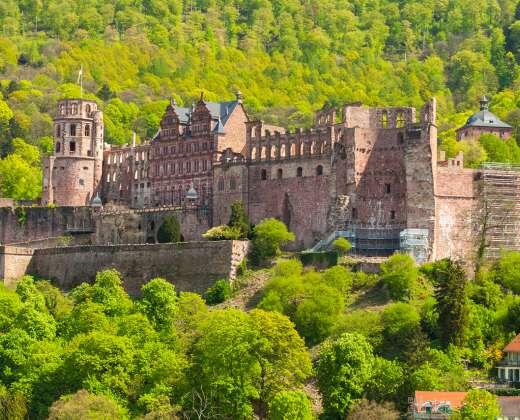 Heidelbergas. Pilis