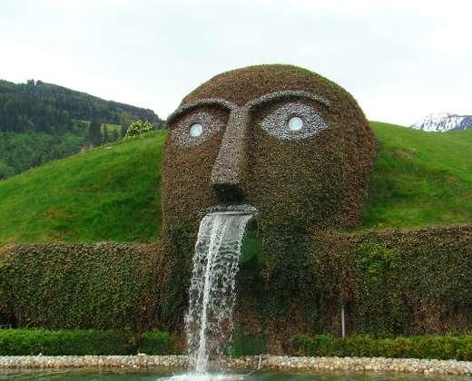 Austrija. Svarovskio kristalų muziejus
