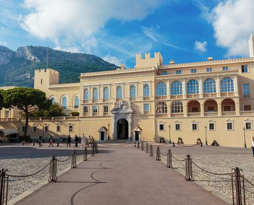 Monakas. Princo rūmai