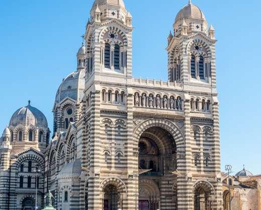 Prancūzija. Marselis. Dievo Motinos Saugotojos bazilika
