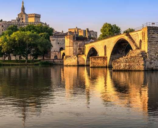 Prancūzija. Avinjonas. St. Benezet tiltas