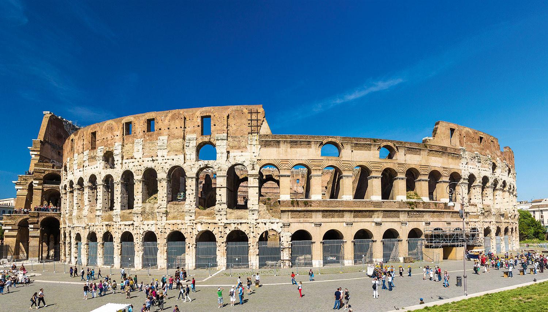 Italija. Roma. Flavijų amfiteatras