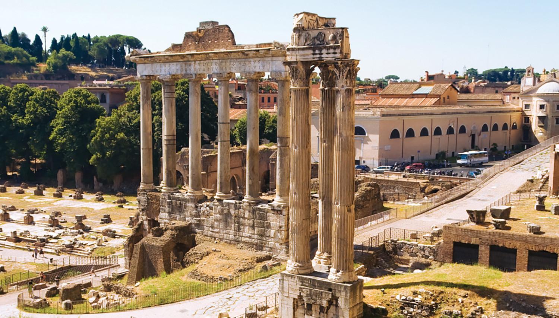 Italija. Roma. Romėnų forumas