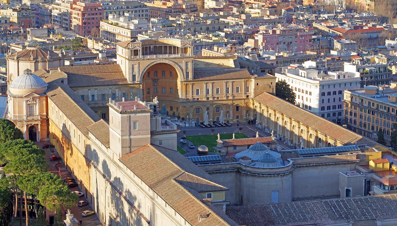 Italija. Vatikano muziejus