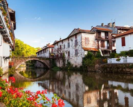 Prancūzija. Saint-Jean-Pied-de-Port