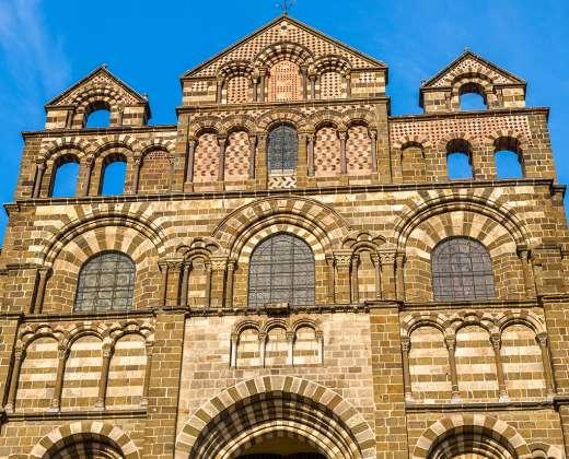 Prancūzija. Le Puy-en-Velay katedra