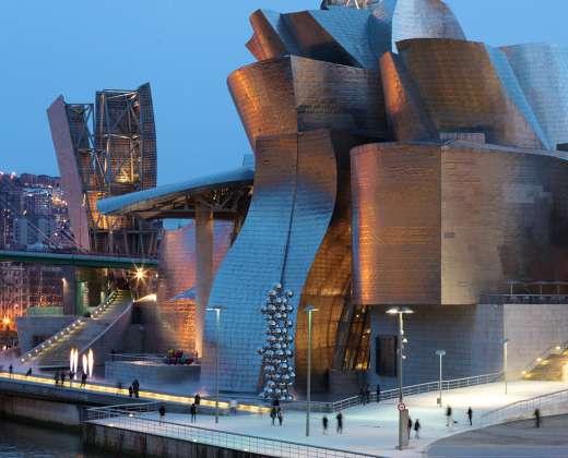 Ispanija. Bilbao. Guggenheimo muziejus