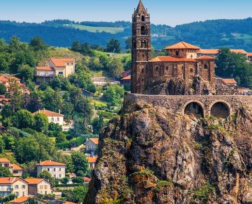 Prancūzija. Le Puy-en-Velay. Saint-Michel d'Aiguille
