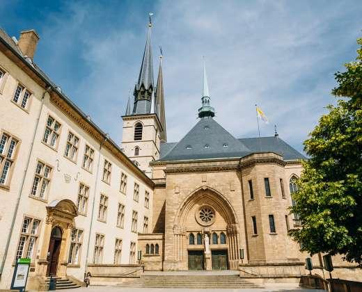 Liuksemburgas. Katedra