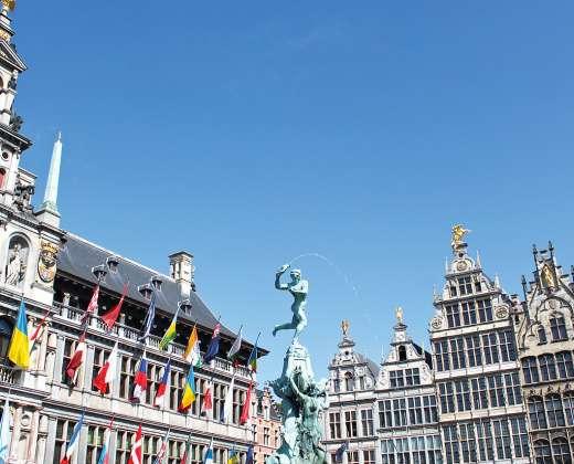 Belgija. Anverpenas