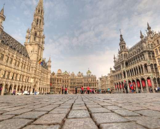 Belgija. Briuselis. Rotušė