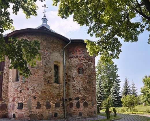 Baltarusija. Gardinas. Šv. Boriso ir Glebo cerkvė