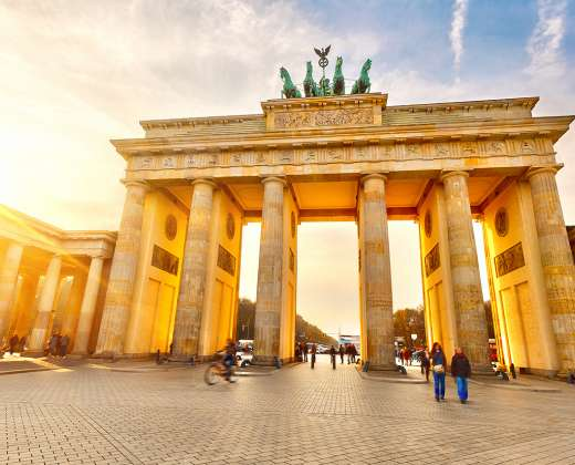 Vokietija. Berlynas. Brandenburgo vartai