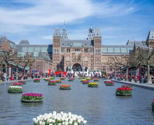 Olandija. Amsterdamas. Rijks muziejus