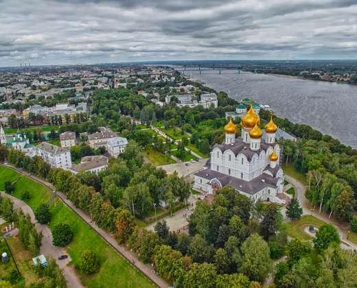 Jaroslavlio panorama