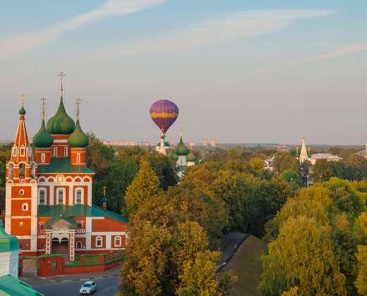 Jaroslavlis. Archangelo Mykolo cerkvė