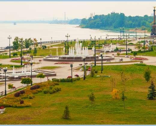 Jaroslavlis. Volgos pakrantė