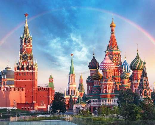 Maskva. Kremliaus  ir Raudonosios aikštės panorama