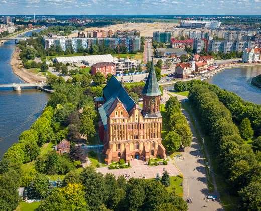 Kaliningradas. Katedra I. Kanto saloje