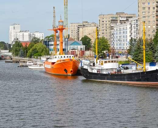Kaliningradas. Pasaulio vandenynų muziejus