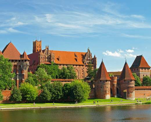 Lenkija. Malborko pilis.
