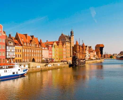 Lenkija. Gdanskas.