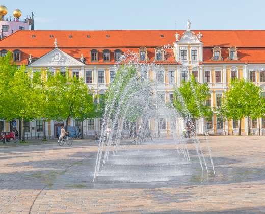 Vokietija. Magdeburgo centrinė aukštė.