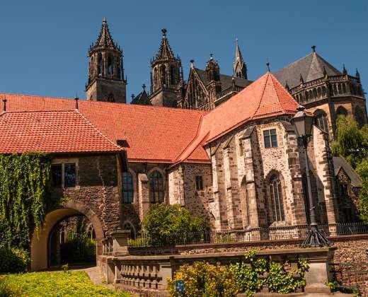 Vokietija. Magdeburgo Katedra.