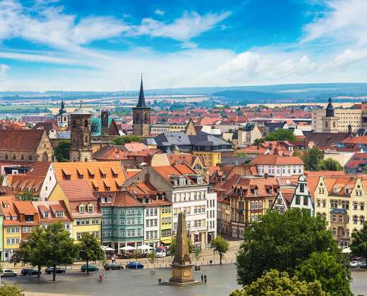 Vokietija. Erfurtas
