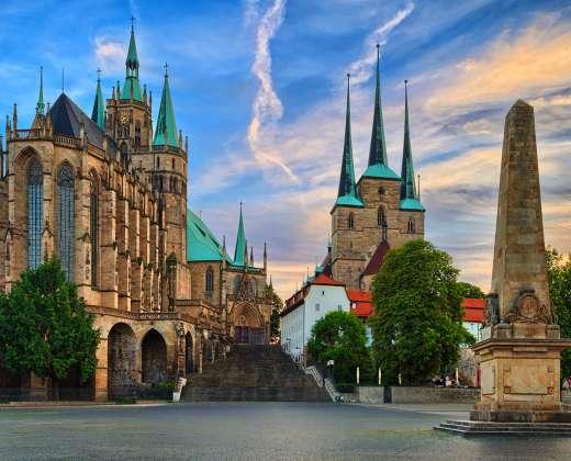 Vokietija. Erfurto Katedra