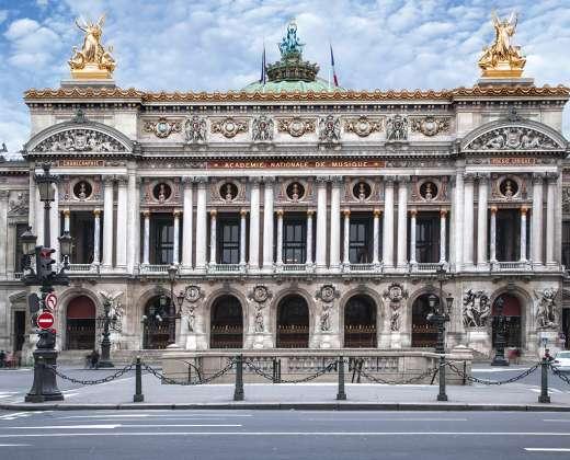 Prancūzija. Paryžius. Ch. Garnier Opera
