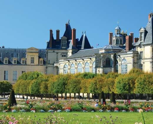Prancūzija. Fontenoblio pilis