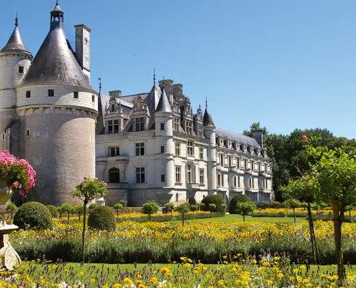 Prancūzija. Šensono pilis