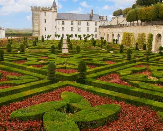 Prancūzija. Vilandry pilies sodai