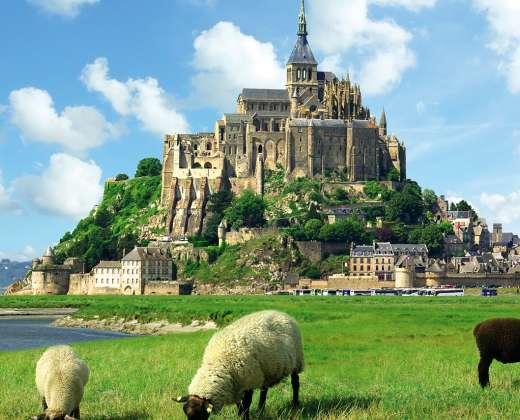 Prancūzija. Sen Mišelio vienuolynas