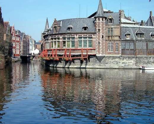 Belgija. Gentas