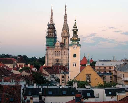 Kroatija. Zagrebas