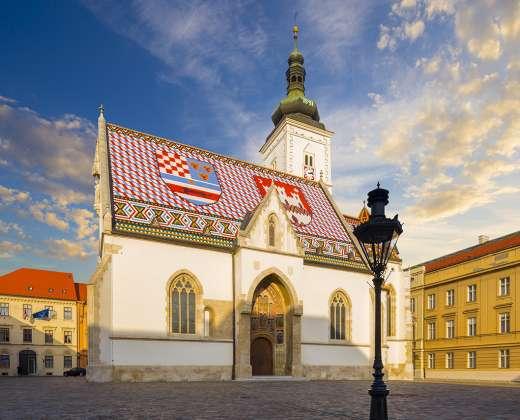 Kroatija. Šv. Morkaus bažnyčia