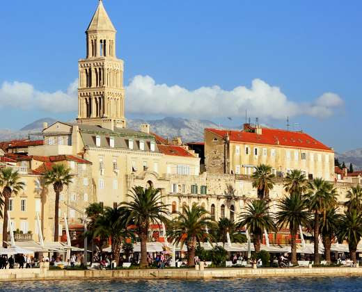 Kroatija. Splitas. Diokletiano rūmai