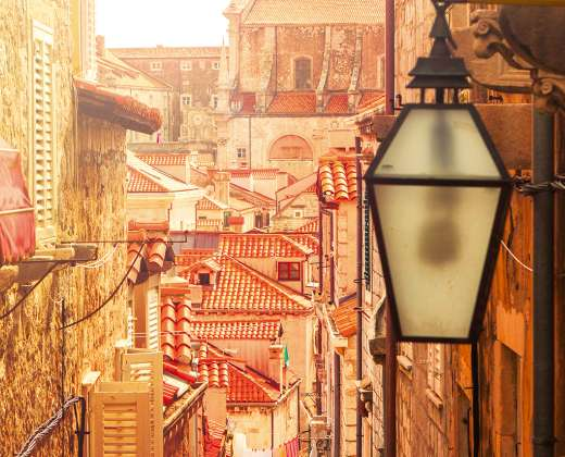Kroatija. Dubrovniko senamiestis