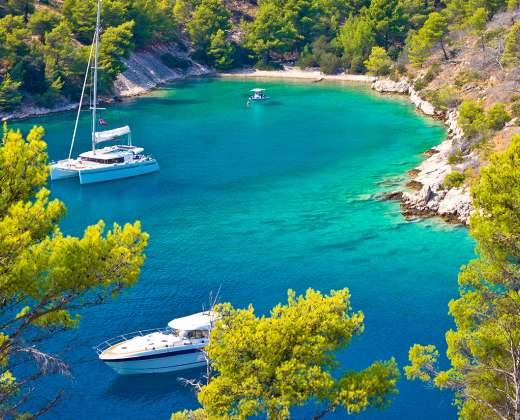 Kroatija. Bračo sala