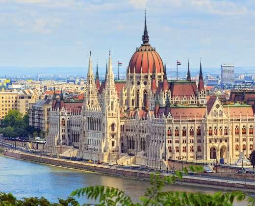 Vengrija. Budapeštas. Parlamentas